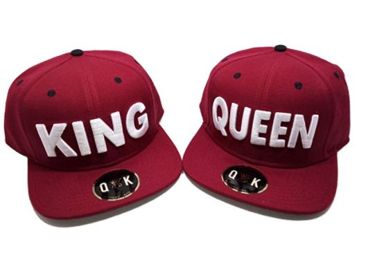 King & Queen – Couples Hats  ———————— couple wear, couple fashion, couple goals, gift ideas, anniversary gift ideas, christmas gift,…