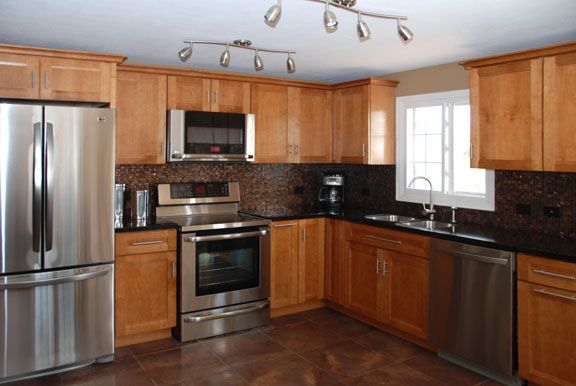 L Shaped Kitchen Layout