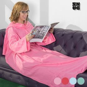 One Big Snug Snug Decke mit Ärmeln, rosa