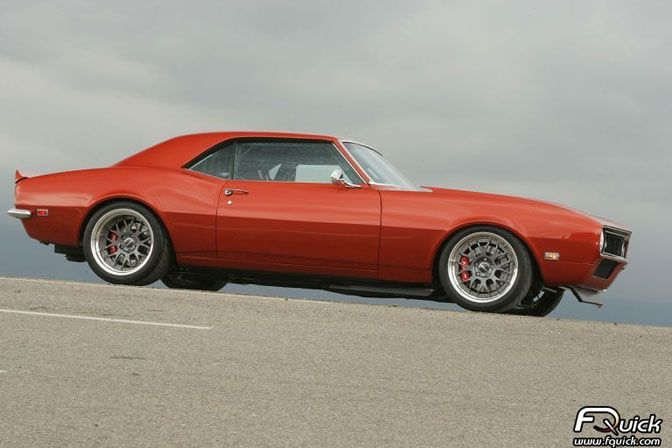 Bad Penny 1968 pro-touring Camaro by Stephen Rupp