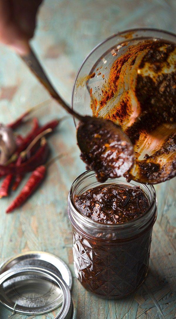 Salsa Mucha Muchacha AKA Salsa Macha - Yes, more please! Cooking Blog