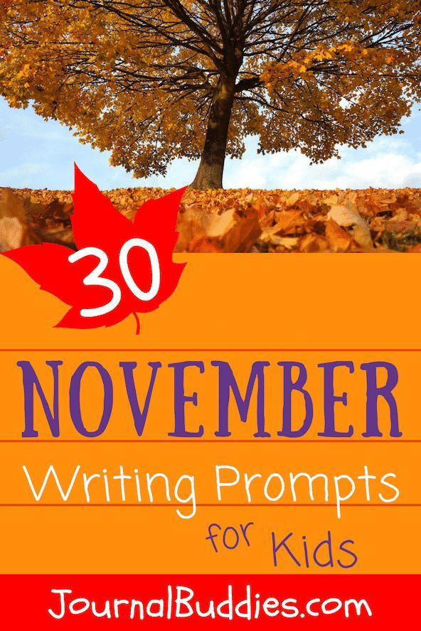Fun Writing Prompts for Middle School - journalbuddies.com