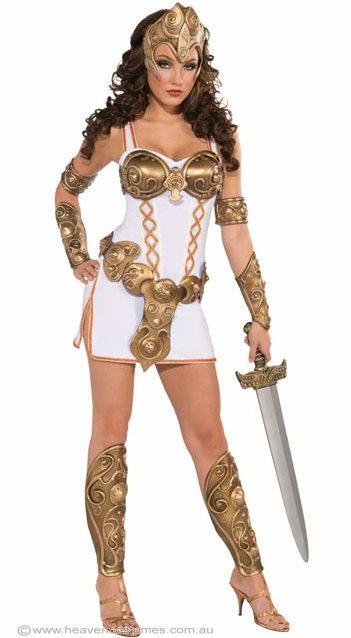 Gladiator Costume | Warrior Woman Sexy Gladiator Costume | Xena Costumes - Halloween Costumes | fancy dress costumes Australia | wigs, masquerade masks | online shop
