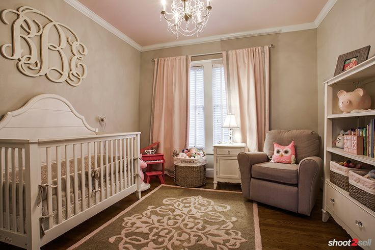 little girls bedroom pink and tan - Google Search