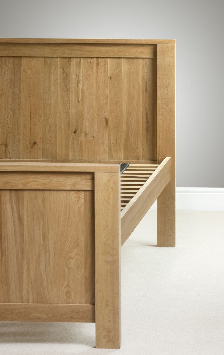 Oakdale Solid Oak Furniture Range Bedroom | Oak Double Bed Frame Oak  Furniture Land Www.