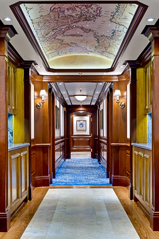 Foyer Luxury Zoo : Dalton interiors for m y cakewalk yacht