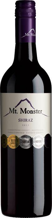mt monster shiraz 2012 - Google Search
