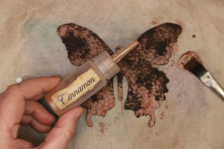 Instant rust with cinnamon-who wants to wait for chemical reactions?