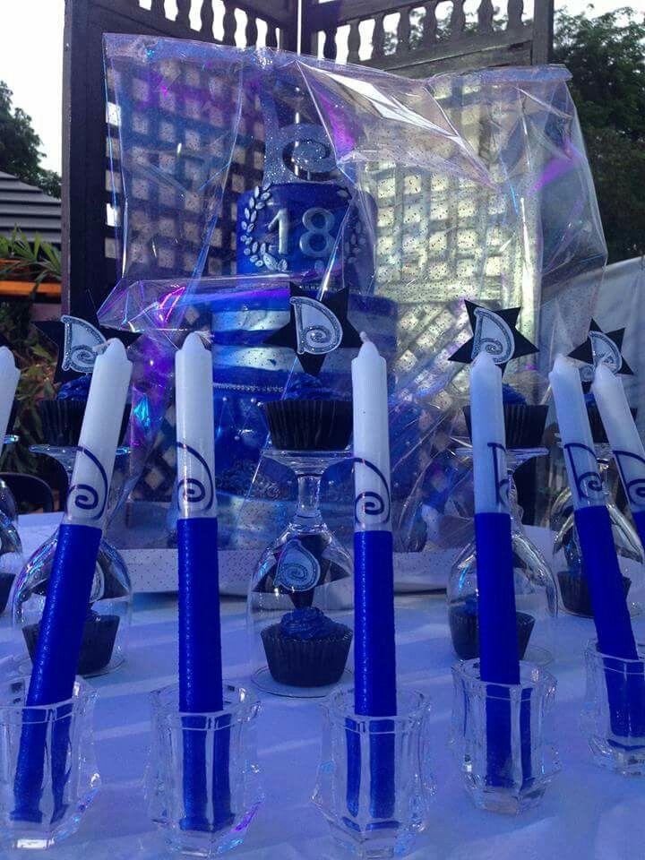 Dazzlingdjennise 18thcandles Candles Design Ideas Debut