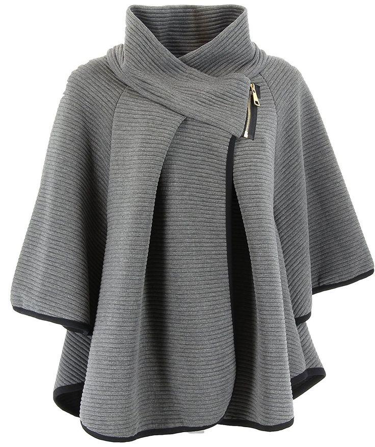 charleselie94 cape veste manteau ample grande taille 38 54 matilda femme charleselie94. Black Bedroom Furniture Sets. Home Design Ideas