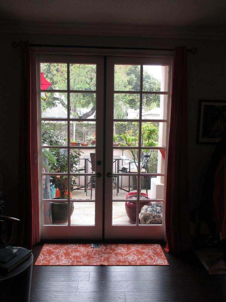 214 best french door stowaway retractable screen doors for Screens for french doors that open out