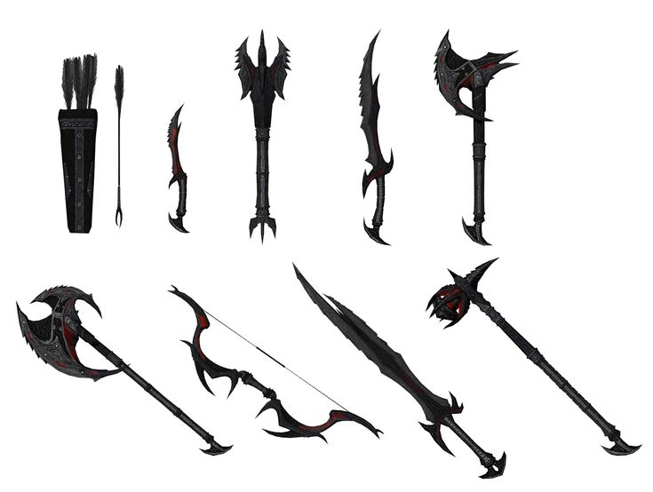 Skyrim Daedric Weapons Locations | The Daedric Weapons ...
