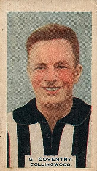 Gordon Coventry Footy Card