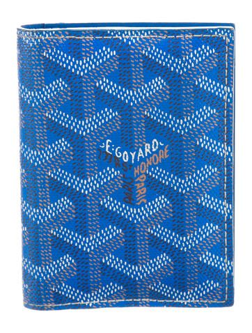 Goyard Coated Canvas Vertical Wallet