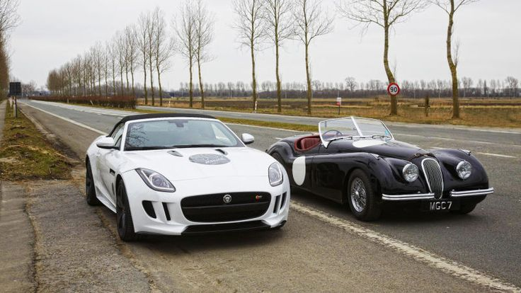 The new Jaguar F-Type is one handsome car, but how good does it look next  to the classic Jaguar sports cars of the 1940s, '50s, and '60s?
