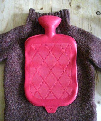 The Treasure Hunt: DIY Hot Water Bottle Cover