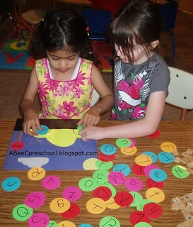 """Transportation Theme We matched upper and lower case letters to make the car wheels. Each child could have a mat in the small group. Take turns to add the """"wheels"""". OR could play a memory game matching upper/lowercase letters (with car die cuts)"""