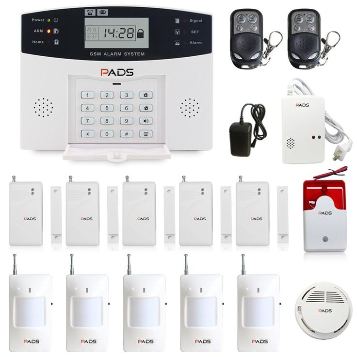 99 Wireless Zone Auto Dial And SMS GSM Home Burglar Security Alarm System Super Kit Configuration Kitchen Fire Alarm System