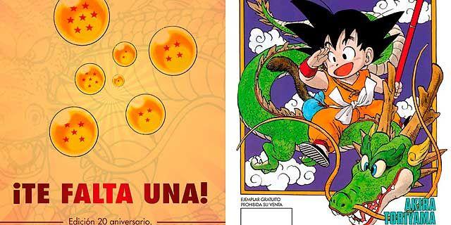 20 años de 'Dragon Ball' en España