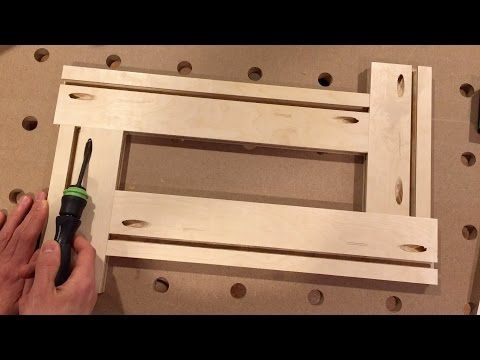 An Indispensable Router Accessory: DIY Adjustable Routing Template - YouTube