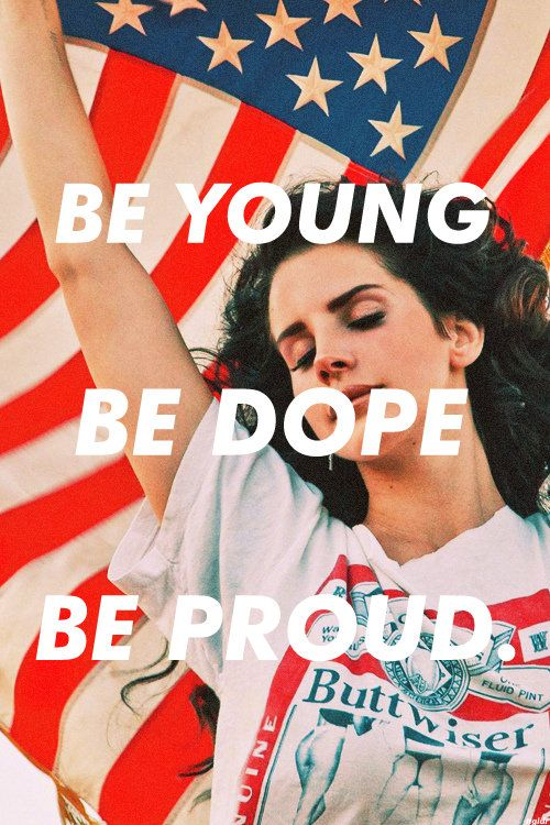 Be young..Be dope...Be proud