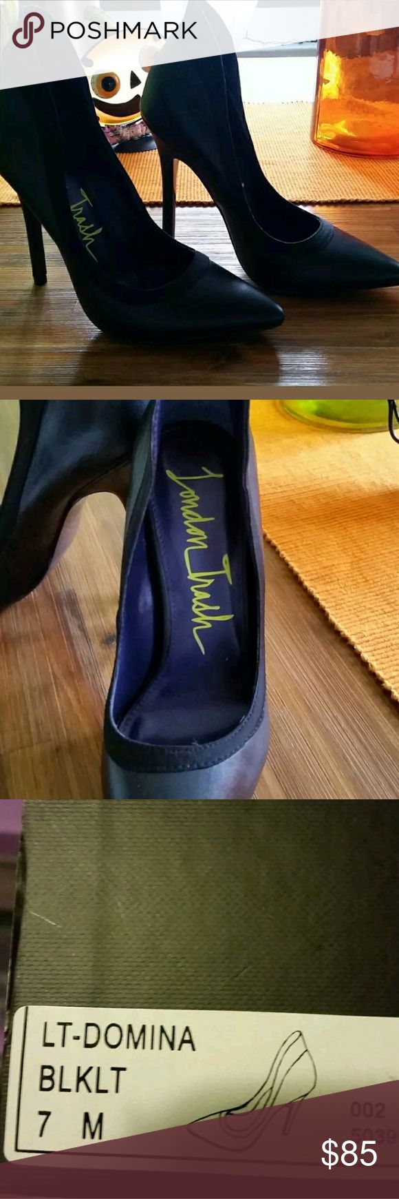 I just added this listing on Poshmark: London Trash Black Pump. #shopmycloset #poshmark #fashion #shopping #style #forsale #London Trash #Shoes