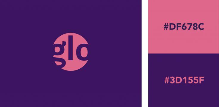 purple pink orange branding - Google Search | Logo color ...