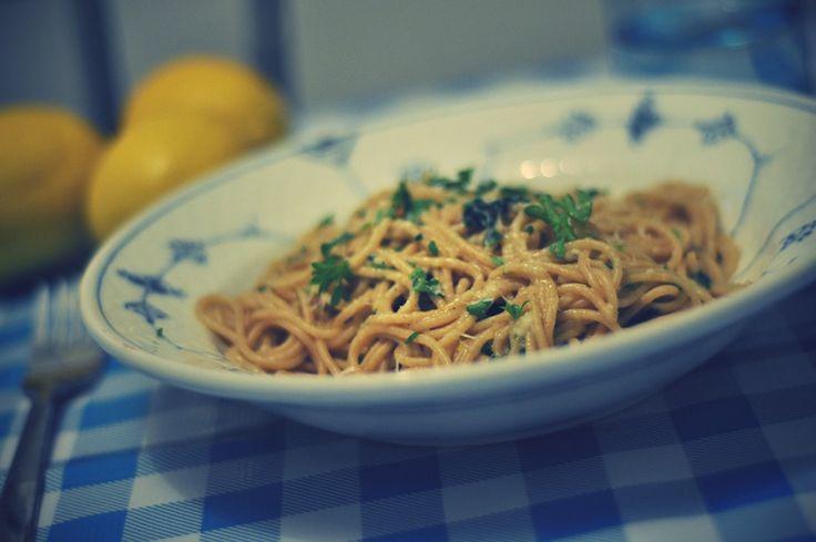opskrift: citronpasta// lemon pasta