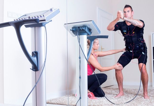 Top athlete dream couple chooses miha bodytec's latest innovation: Gábor Kucsera (World - and European champion kayakist) and Szabina Tápai (professional handball player) recently opened their exclusive studio in the heart of Budapest. The highest quality guaranteed!  #mihabodytec #worldwide #emstraining