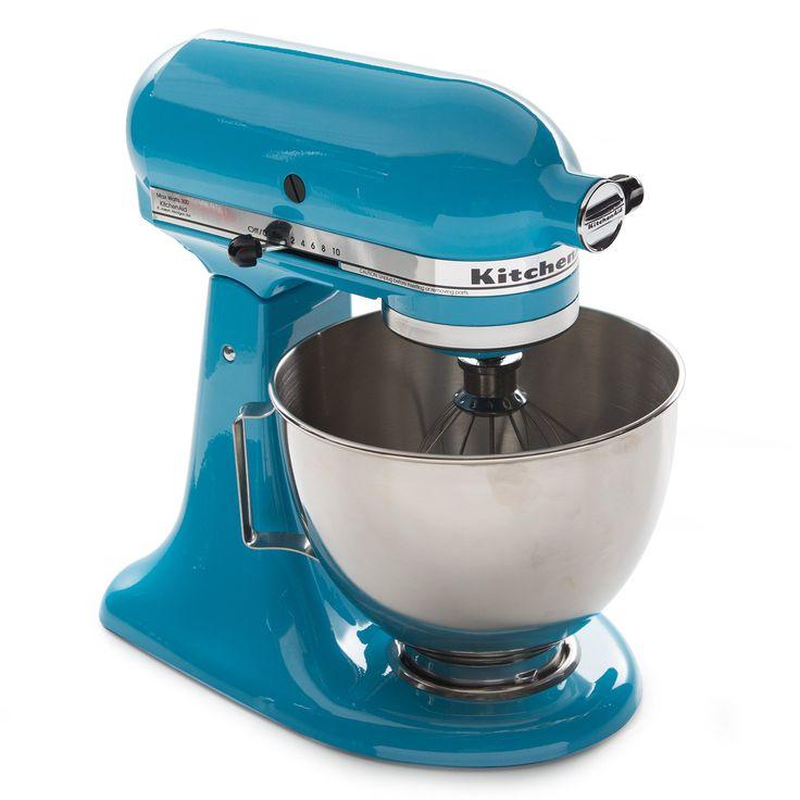 Kitchenaid 45 qt tilt head stand mixer crystal blue