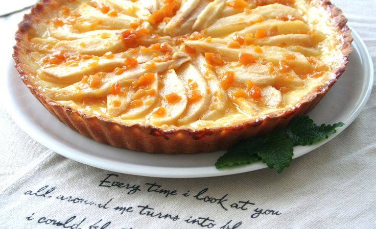 Tarta z kremem budyniowym i gruszkami   Dr. Oetker: Blog Kulinarny Pani Tereska