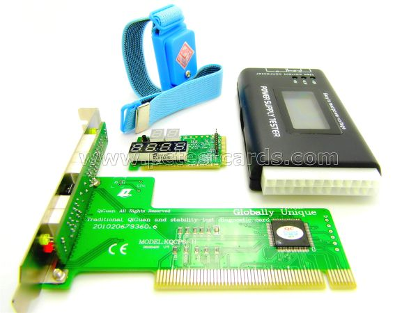 New Complete PC Laptop Motherboard & All-in-one ATX LCD Power PSU Diagnostic Analyzer MonitoringTest Kit_pctestcard.com