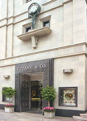 Tiffany's Fifth Avenue and 57th Street New York, NY 10022 212 755 8000  Mon.-Sat.: 10:00AM-7:00PM Sun.:12-6:00PM