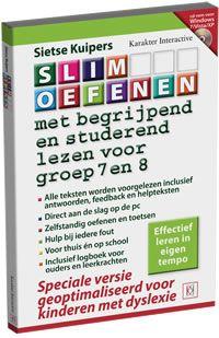 SLIM OEFENEN met begrijpend lezen en studerend lezen voor groep 7 en 8 (met voorleesfunctie)