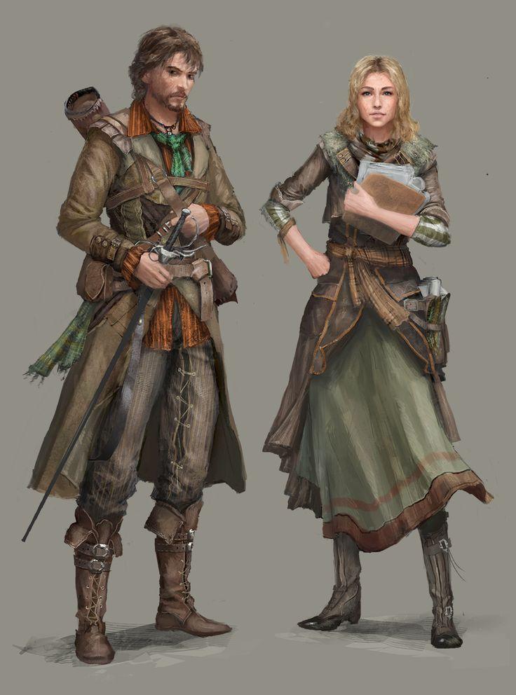 Renaldo and Diana by B-Dunn.deviantart.com on @deviantART