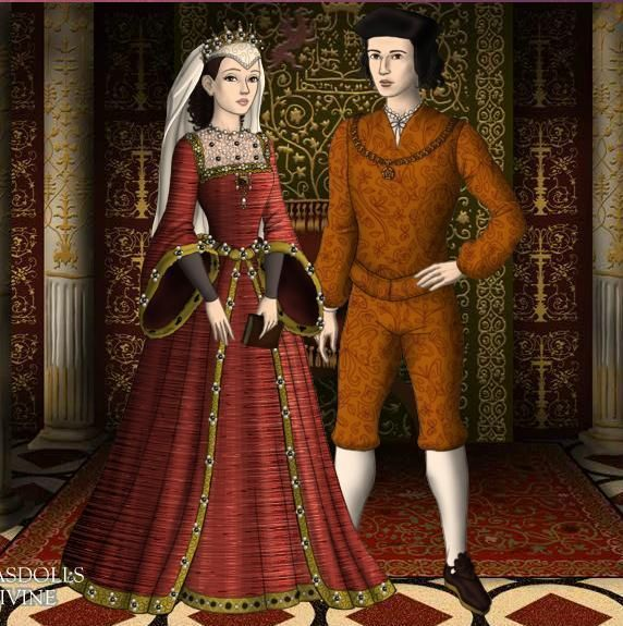 Ferdinand and isabella wedding