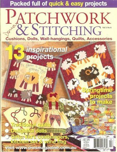 Patchwork Stitching vol 3- nº 6 - lindasrevistas - Picasa Webalbumok