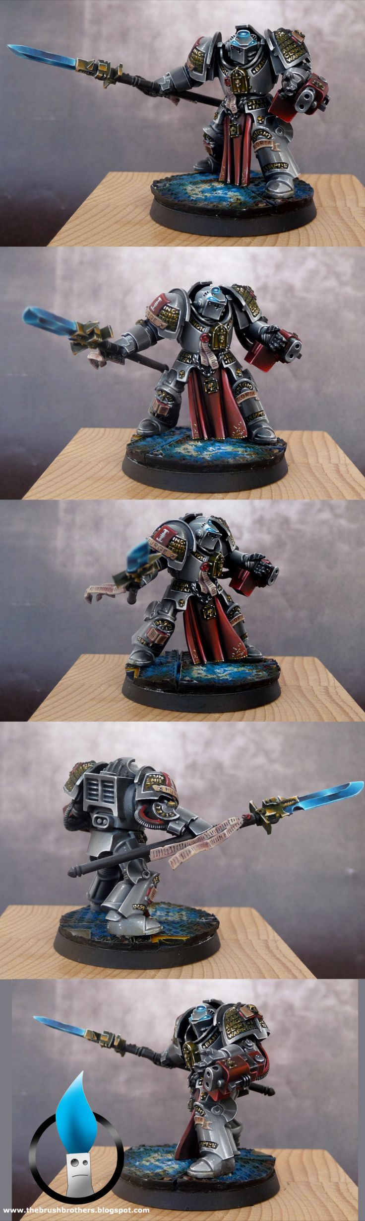 Grey knight- by loler. NMM on bolter muzzle... must try that style.