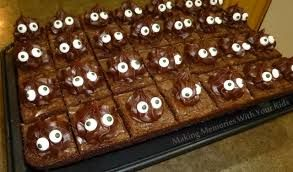 we love these crazy brownie eyes