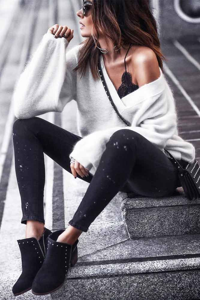 The Trendiest Cashmere Sweater Looks To Pull Off This Season – Lookbook