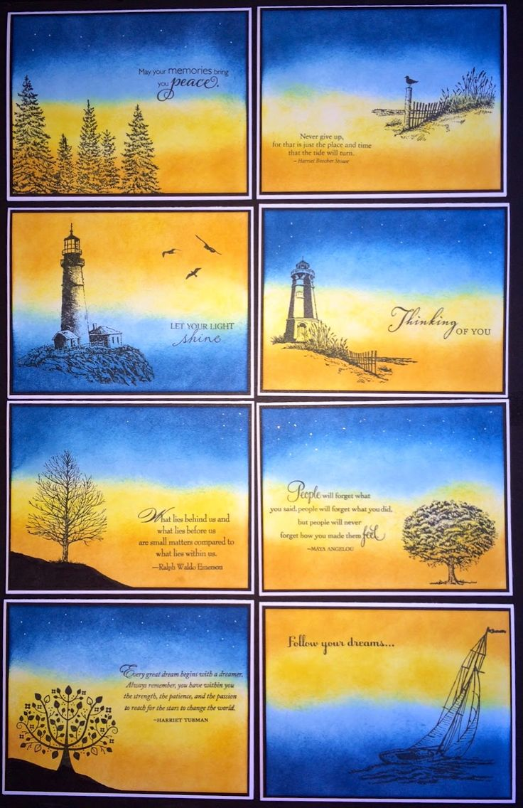 Inspirational Card Set by Laura Ryan