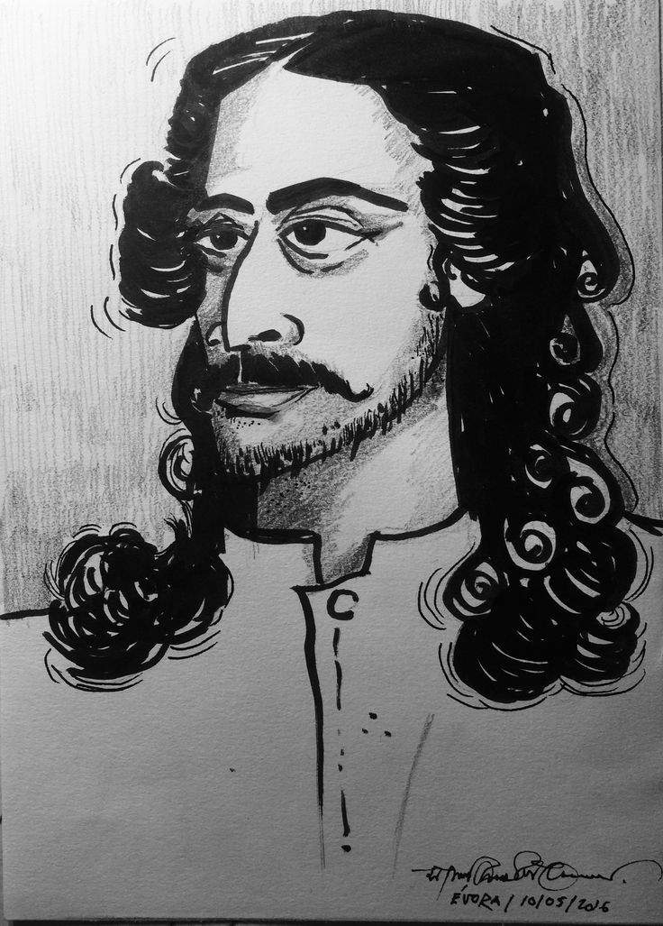 Rabindranath Tagore  In his young days