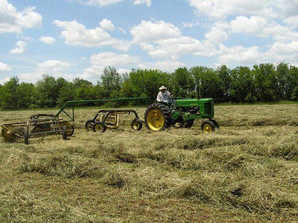 making hay!