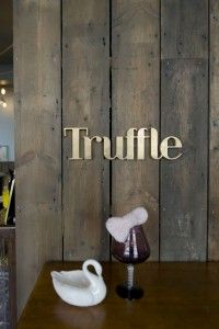 44th Hill — Truffle Store, signage