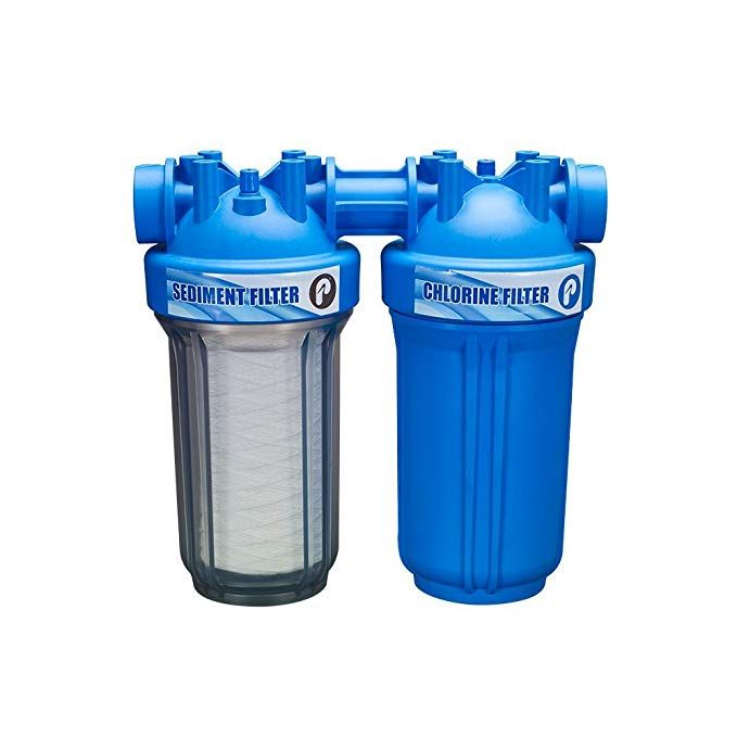 Pelican 2 Stage Ez Connect Water Filter 10 Chlorine System Review Water Filtration System Water Dispenser Portable Water Filtration