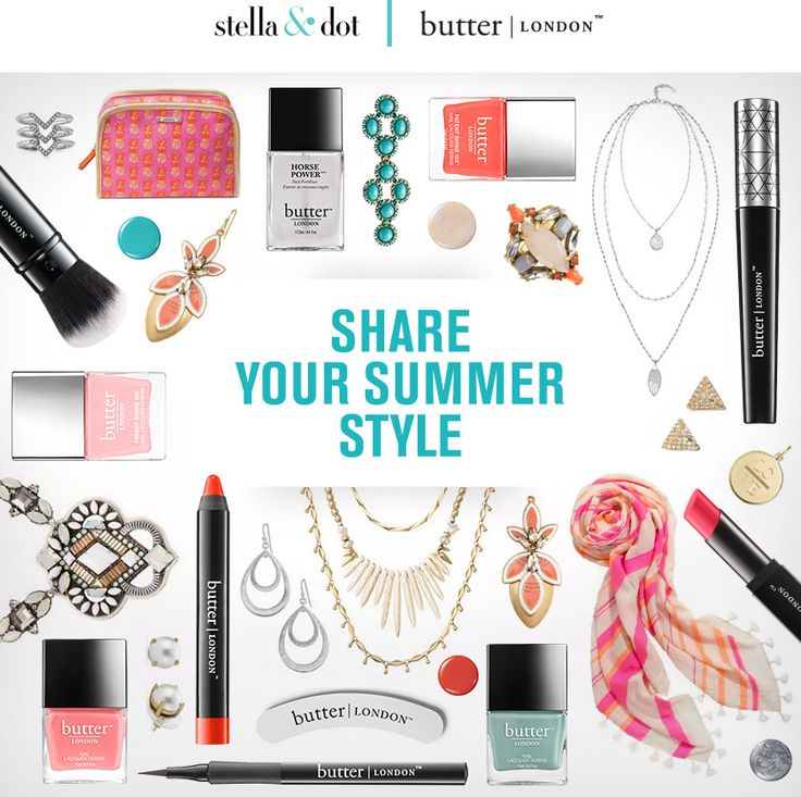 Stella & Dot | butter LONDON giveaway sweepstakes summer June 2015