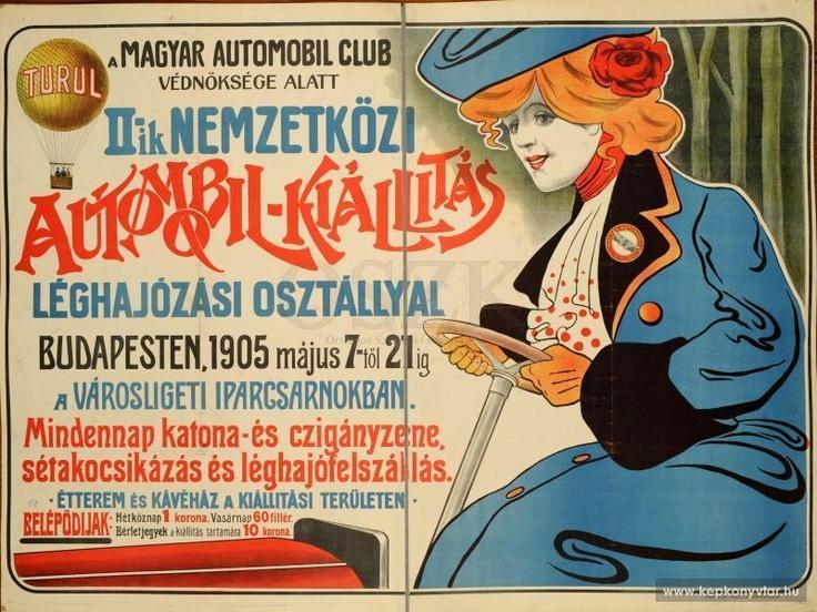 A Magyar Automobil Club ... II-ik Nemzetközi Automobil-Kiállítás ... Budapesten ... Iparcsarnokban ...