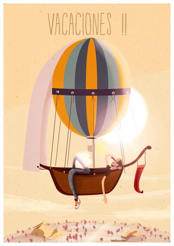 Nos vamos de vacaciones. Volveremos la semana que viene con los mejor sobre redes sociales, publicidad y comunicación online. Mientras puedes seguir Social Media Pymes en Facebook, Twitter, Google+ y Pinterest. ¡Feliz Semana Santa a todos!  Foto: http://www.pinterest.com/mundosucedaneo/