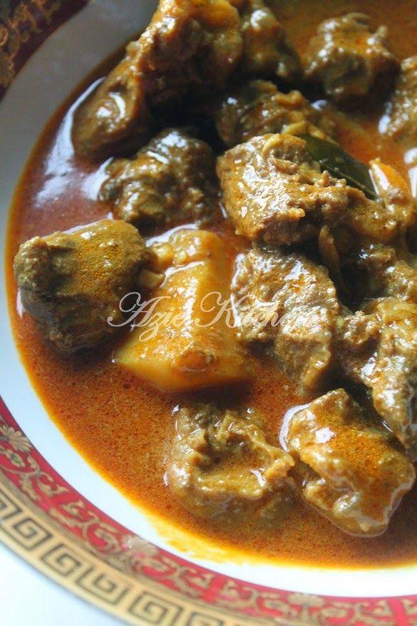 Azie Kitchen: Kari Daging Tetel Yang Sangat Sedap