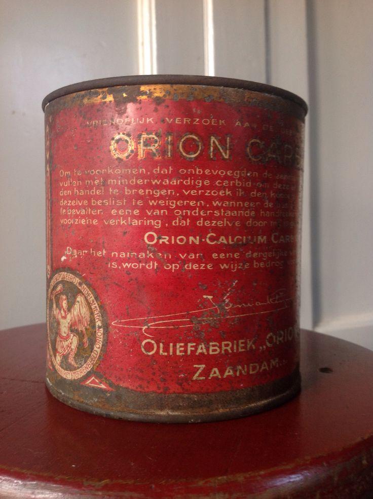 Orion calcium carbide